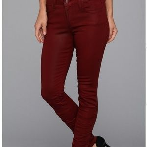 JOES Jean's burgundy size 27